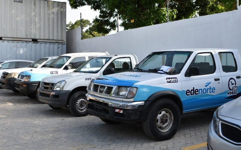 Edenorte reintegra vehículos que estaban abandonados