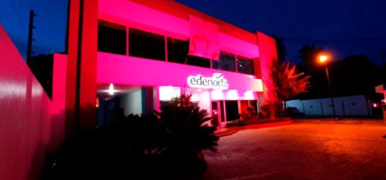 Edenorte respalda mes lucha contra cáncer de mama