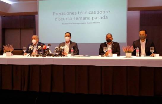 Técnicos Danilo defienden su gestión presidencial