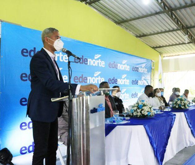 Edenorte inicia electrificación en el municipio de Baitoa