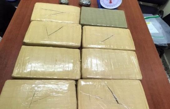 DNCD informa decomiso 5 kilos de drogas en octubre