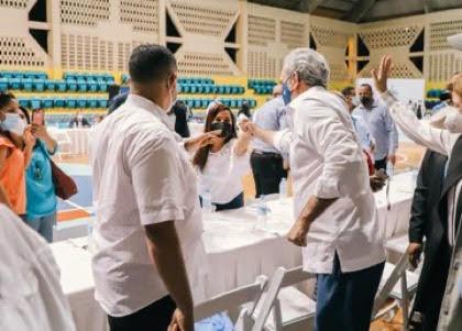 Abinader encabeza eventos en municipio de Santiago