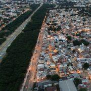 Edenorte repara redes barrios próximos a Parque Central