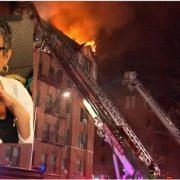 Buscan ayuda para familias que afectó fuego