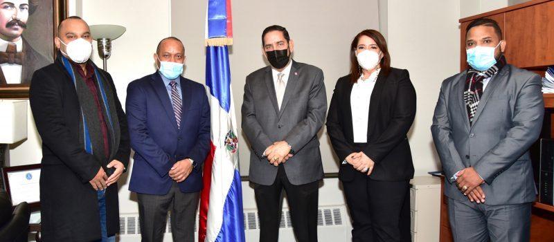 Cónsul Jáquez respalda gestión en el Index