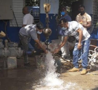 Coraasan vuelve a brindar agua a varias comunidades