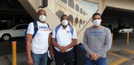 Maíta Mercedes, Melvyn López y Rafael Uribe