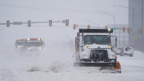 Tormenta de nieve y frío. Foto Sue Ogrocki-AP
