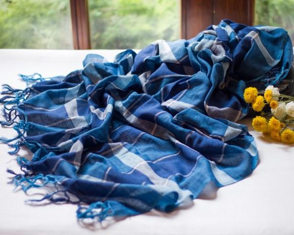 handloom cotton dupatta