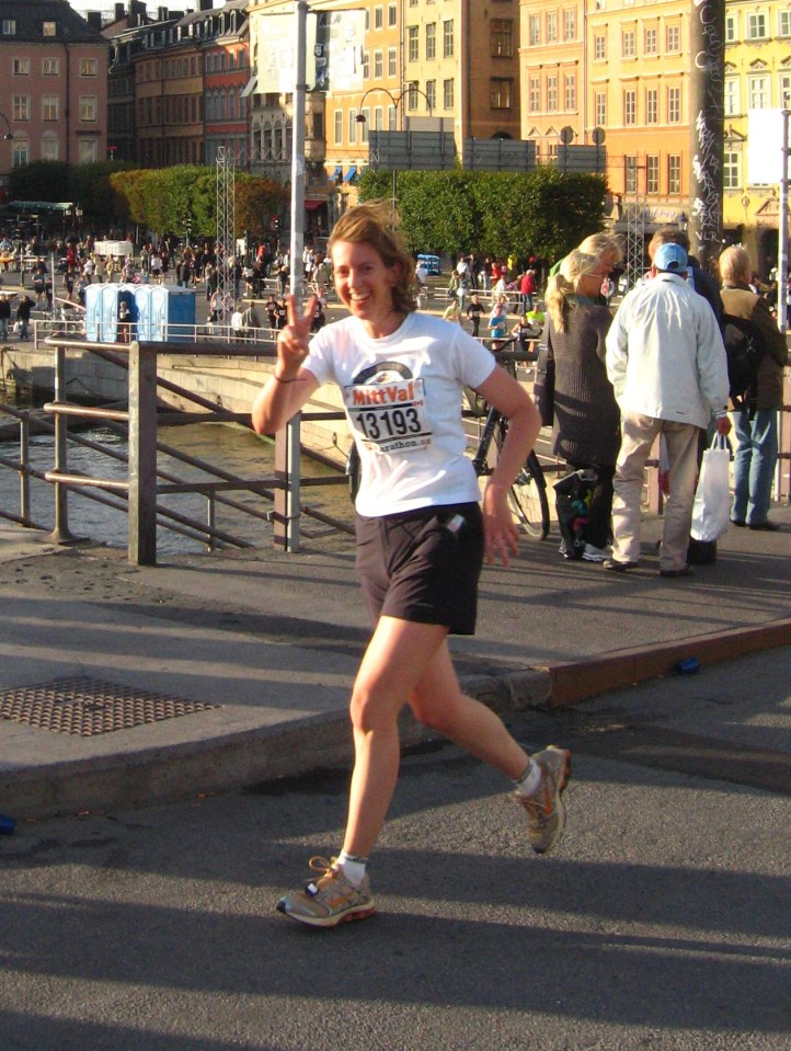 Training run in Sweden