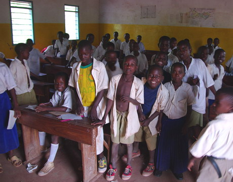 Tanzanian Classroom | Golden Ridge Run | BARAKA