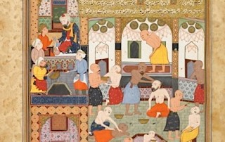 Digital preservation of illustrated Persian manuscripts