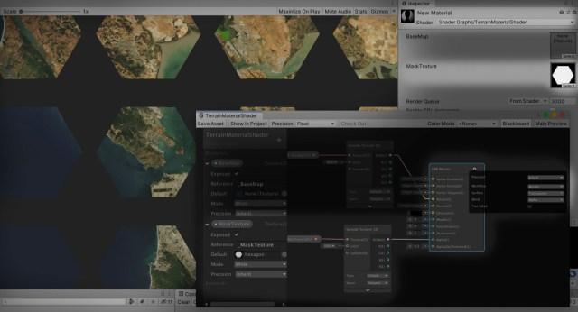 mask shader view