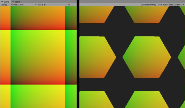 masking and uv spaces