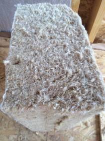 Aislamiento natural de fibra d emadera