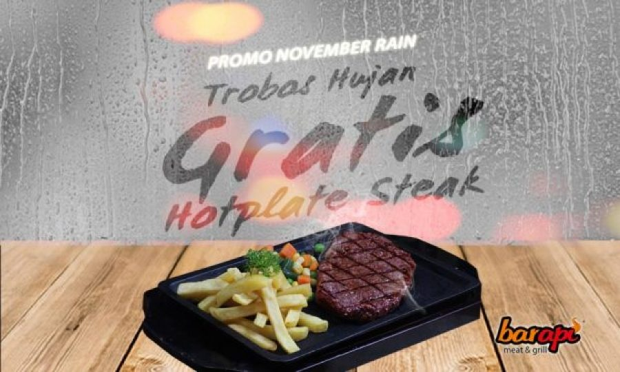 "Promo Steak Gratis ""November Rain"""