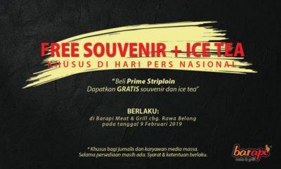 hari pers bagi souvenir gratis