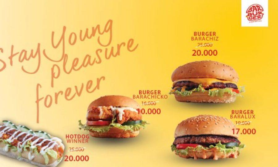 Promo Harkulnas di Burger Jakarta