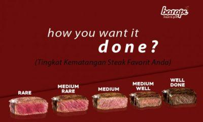 restoran steak jakarta kasih ilmu tingkat kematangan daging steak