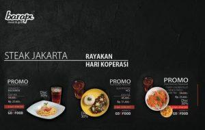 Steak Jakarta Rayakan Hari Koperasi
