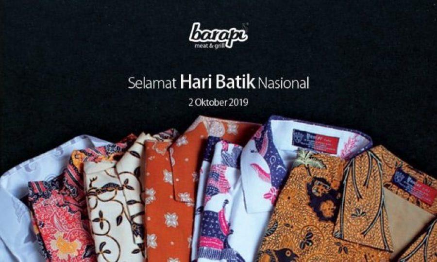 Restoran Steak Rayakan Hari Batik Nasional
