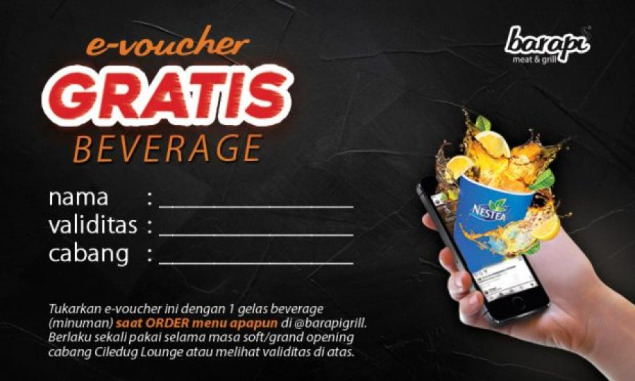 Steaklovers Disambut Welcome Drink