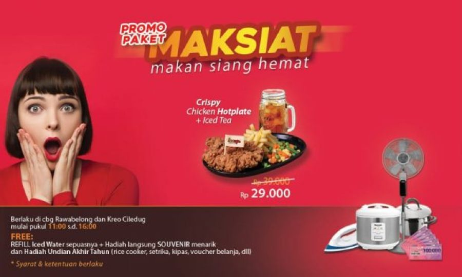 Promo Makan Siang Steak Murah