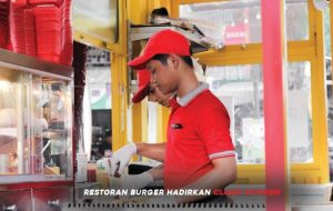 Restoran Burger Hadirkan Cloud Kitchen