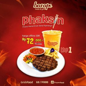 promo phaksin 1 barapi meat and grill