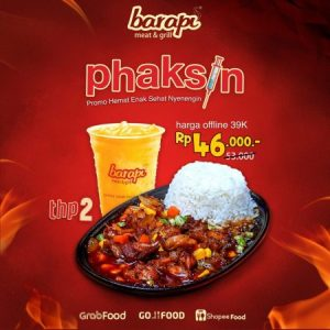 promo phaksin 2 barapi meat and grill