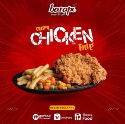 Tips Membuat Cripsy Chicken Fillet Anti Gagal ala Barapi
