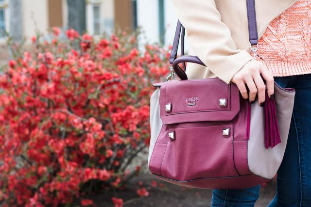 guess marsala bag