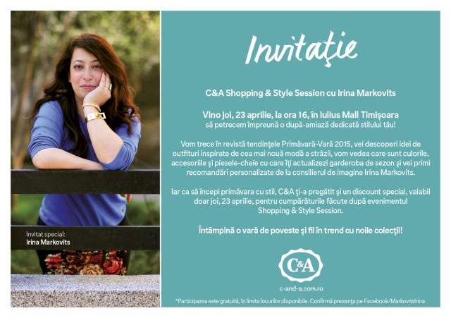 Invitatie_C&A_Shopping&Style_Session
