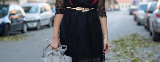 midi lace dress