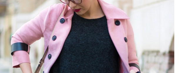 what to wear with a trench coat