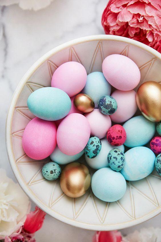 glamorous Easter eggs