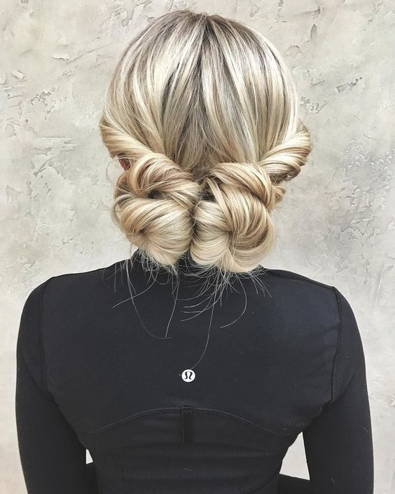 updo for long hair