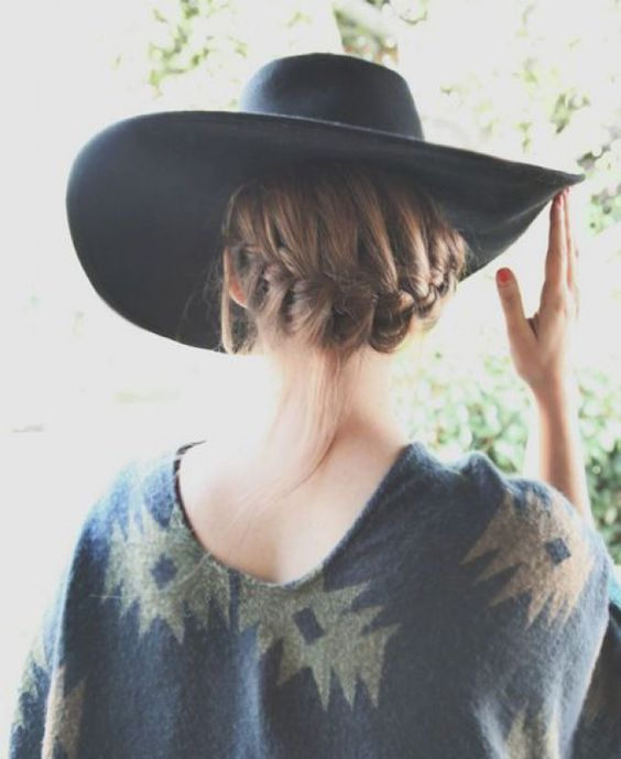 neck nape braid