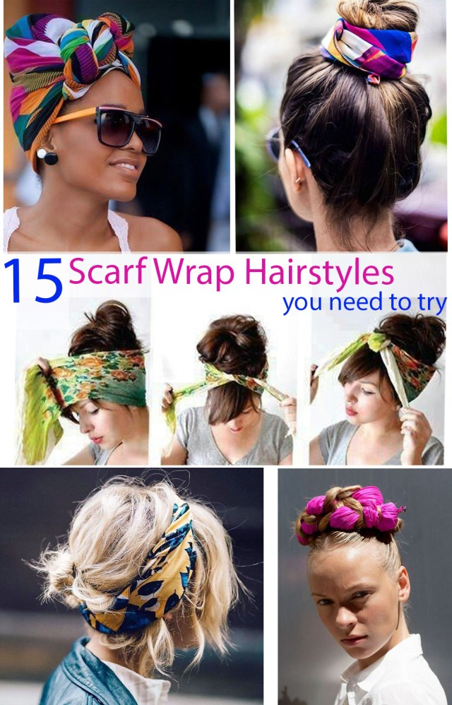 scarf hairstyles