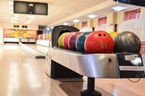 Bowlingpálya alulnézetben