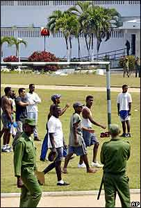 Cuba Prison Always Whites Guarding Blacks