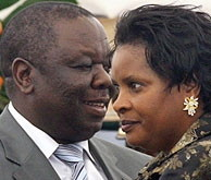 Truck Hit Car, Mrs. Tsvangirai Dies