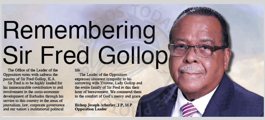 Remembering Sir Fred Gollop