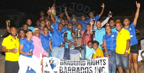 Alexandra School A Team are kings of the 2018 Bragging Rights Barbados Inc Football tournament. (Pictures by Morissa Lindsay)