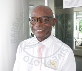 Chief of Security at Sandy Lane Hotel James Alleyne.