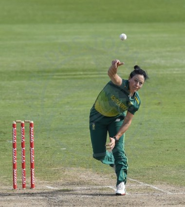 Marizanne Kapp was the best of the Proteas. bowlers.