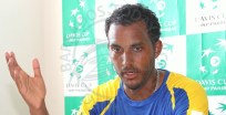Barbados Davis Cup player Haydn Lewis speaking on the way forward for lawn tennis.