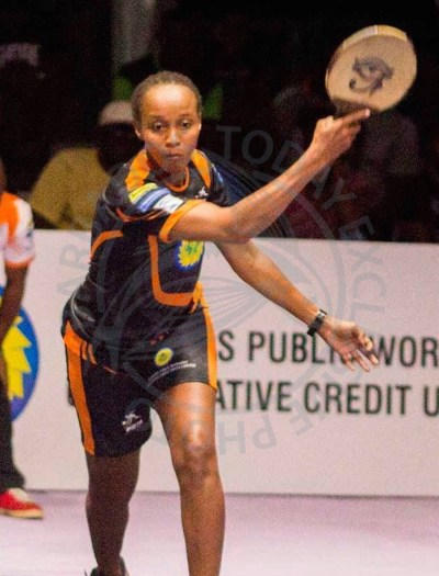 Sheldene Walrond overcame Rachel Smith in their semi-final clash.