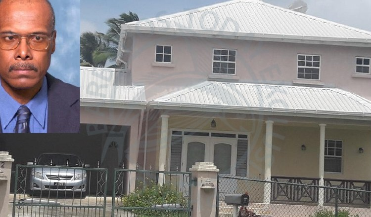 Former chairman of the Barbados Tourism Product Authority Cecil Miller (inset) was found dead at his Rowans Park North, St George home yesterday, while his wife, Syberton was taken to QEH in a semi-conscious state.