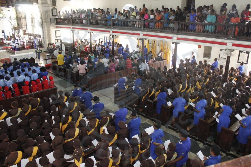 Girl Guides Association marks 100 years with church service